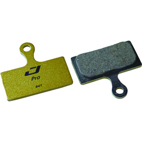 Jagwire Disc Pro Semi-Metallic Brake Pads For Shimano XTR / Deore / SLX / Alfine / CX / XT black/gold